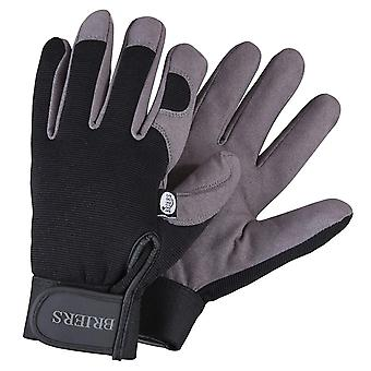 Mens Large Gardening Gloves Durable Strong Digging Gloves With Adjustable Strap