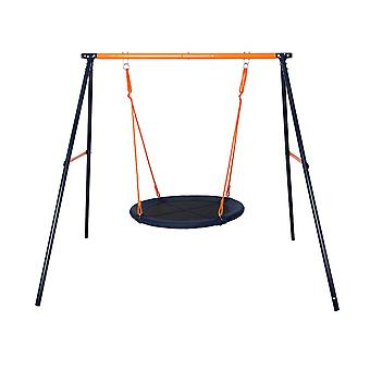 Hedstrom Fabric Nest Swing Set Blue/Orange Ages 3-10 Years