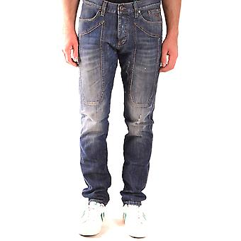 Jeckerson Ezbc069050 Men's Blue Cotton Jeans