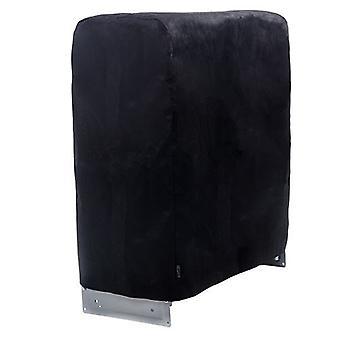Copertura per l'immagazzinamento protettivo nero 25 nero non tessuto per il letto degli ospiti pieghevoli
