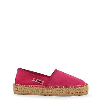 Love Moschino Original Women Spring/Summer Slip-on - Pink Color 34618