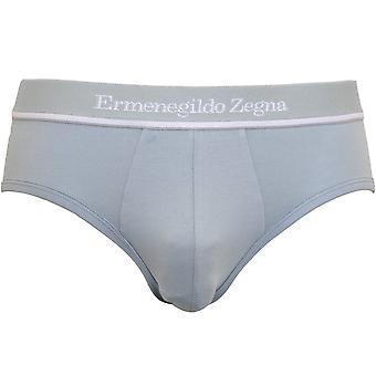 Ermenegildo Zegna Stretch Cotton Brief, Luz de cemento