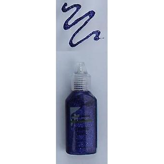 CraftEmotions Glitter Kleber violett 20 ml