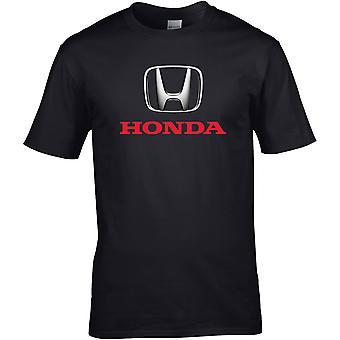 Honda Metallic - Car Motor - DTG Printed T-Shirt
