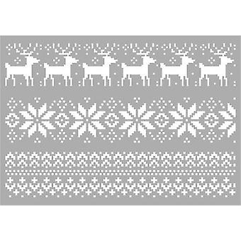 Pronty Mask kaavain - Joulu Pattern 470.803.052 A4