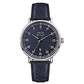 Jack Wills Watches Jw003blbl Men's Acland Blue Leather Watch