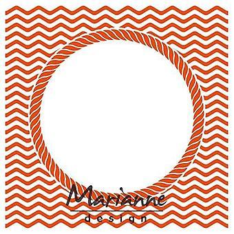 Marianne Design Embossing Folder - Vue sur l'océan