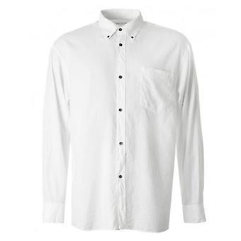 Dries Van Noten Cliff Contrast Button Down Shirt