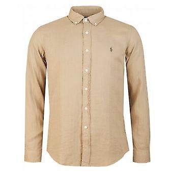 Polo Ralph Lauren Custom Slim Fit Double Face Oxford Shirt