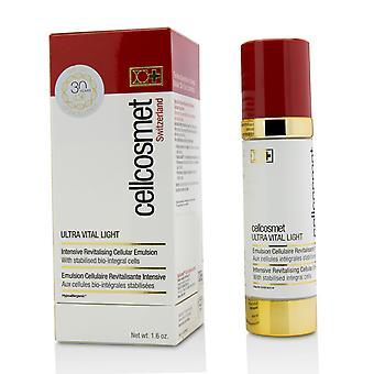 Cellcosmet ultra vital light intensive revitalising cellular emulsion 216995 50ml/1.6oz