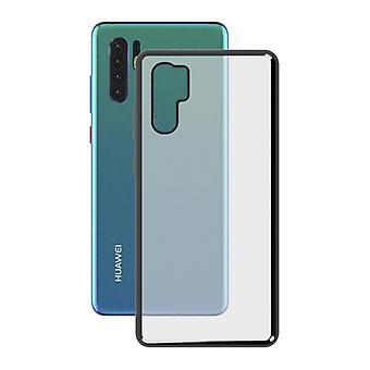 Mobile kansi Huawei P30 Pro KSIX Flex Metal Grey