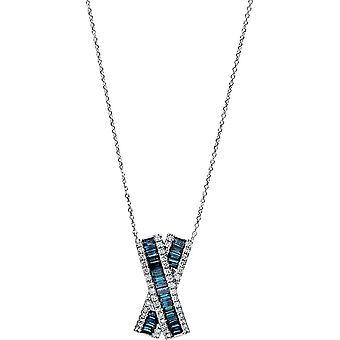 Diamond Collier Collier - 18K 750/- White Gold - 0.79 ct. - 4E353W8-2