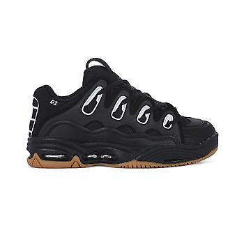 Osiris D3 Black Gum D3BLKGUM skateboard toute l'année chaussures hommes
