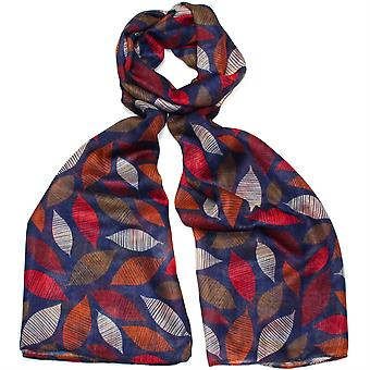 Pip & Hazel 100% Polyester Scarf - Hampshire Blue