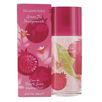 Elizabeth Arden Green Tea Pomegranate 100ml Eau de Toilette Spray for Women