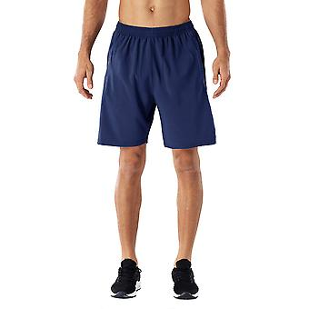 Allthemen Men's Wide Tube Colorblock Casual Shorts