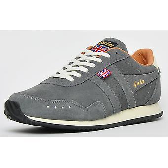 Gola Klassikere Spor Semsket 317 Laget I England Ltd Edition Charcoal Grey / Stein / Tan
