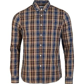 Farah Brewer Tartan Slim long Sleeved Shirt