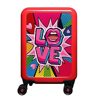 myTrolley Love S, 4 wheels, 55 cm, 32 L, red