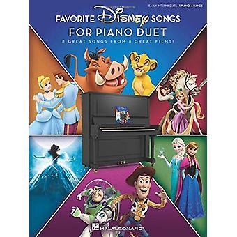 Favorite Disney Songs For Piano Duet by Hal Leonard Publishing Corpor