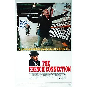 The French Connection Poster Gene Hackman, Roy Scheider, Fernando Rey 101,5 x 68,5 cm
