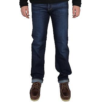 Emporio armani men's j21 blue jeans