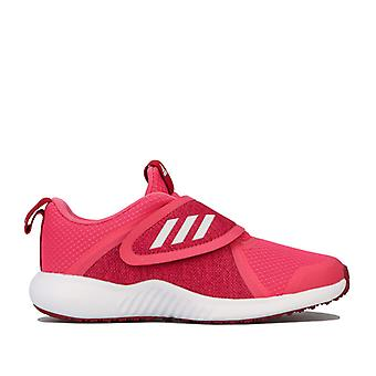 Girl's adidas Junior FortaRun X Trainer in Pink