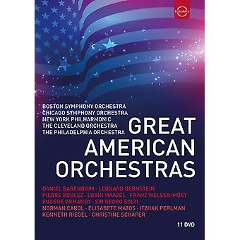 Great American Orchestras [DVD] USA import