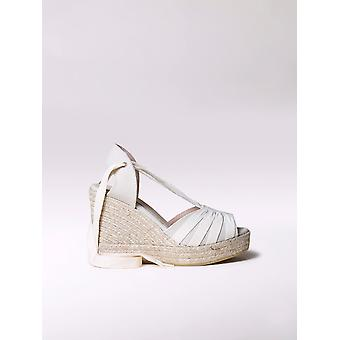 Toni Pons high wedge espadrille with laces - PALS