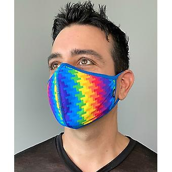 Andrew Christian mouthcap Electric Pride Glam Masca