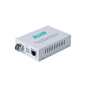 Alloy Gcr2000Sfp Gigabit Autonome Rackmount Media Convertisseur