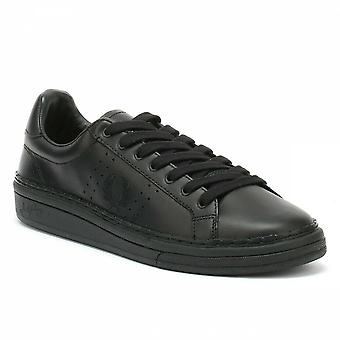 Fred Perry B721 High Shine Leather Men's Trainers B2085-102