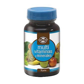 Multivitamines et minéraux 30 perles