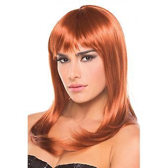 Hollywood Wig - Maroon
