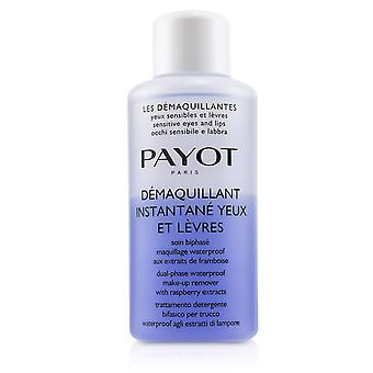 Les demaquillantes demaquillant instantane yeux dual phase waterproof make up remover for sensitive eyes (salon size) 235207 200ml/6.7oz