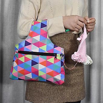 Garn Nähen Werkzeug kleine Projekte AufbewahrungTaschen - Garn Lagerung Organizer Diy Bekleidung Nadelarbeit stricken Einkaufstasche