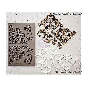 Re-Design with Prima Hollybrook Ironwork 5x8 Inch Mould
