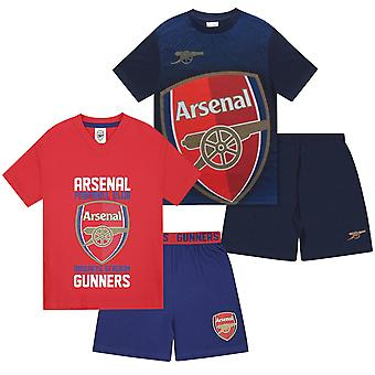 Arsenal FC officiella Fotboll Gift Boys Kids Kit Pyjamas
