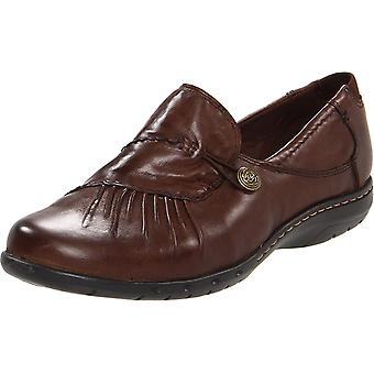 Cobb Hill Womens Paulette Leather Closed Toe Oxfords