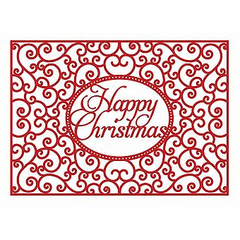 First Edition Christmas Craft a Card Die - Happy Christmas