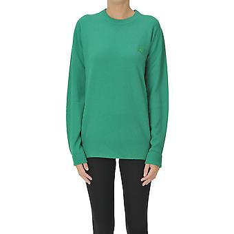 Acne Studios Ezgl151059 Damen's Grüne Wolle Pullover