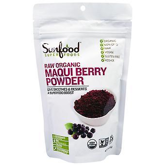 Sunfood, Superfoods, Raw Organic Maqui Berry Powder, 4 oz (113 g)