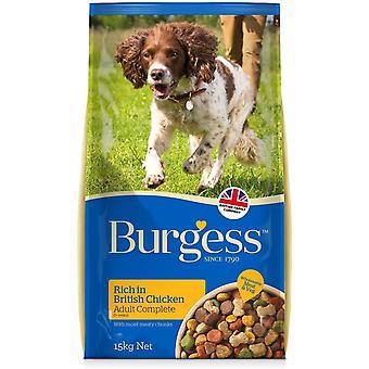 Poulet pour chien pour adultes Burgess - 15kg