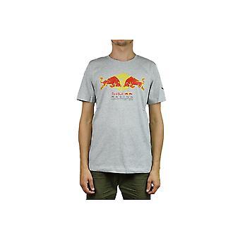 Puma Red Bull Racing Double Bull Tee 59620902 universal all year men t-shirt