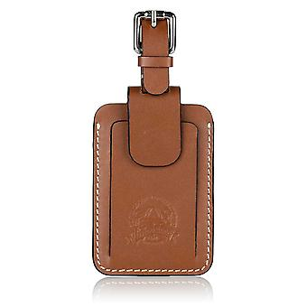 Livingstone Leather Luggage Tag