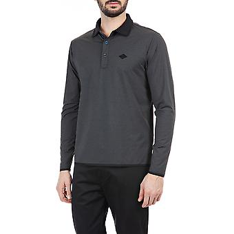 Replay Men's Long-Sleeved Polo T-Shirt
