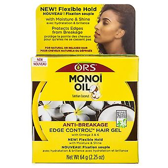 Organische wortel stimulator monoi anti-breuk rand controle olie, 2,25 oz *