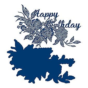Tattered Lace Grown Together Happy Birthday Die Set