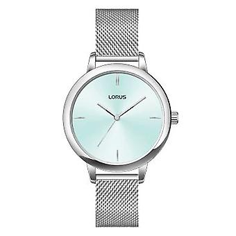 Lorus Damen Silber Mesh Armband Kleid Uhr (Modell Nr. RG291QX9)