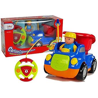 Dumper Truck R/C för barn med fjärrkontroll